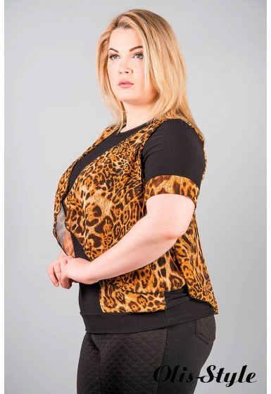 Кофта Верджини (леопард)  оптовая цена