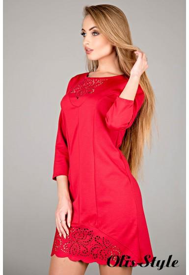 Платье Форина (красный) Оптовая цена