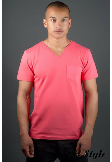 Мужская футболка Жерар (красный) оптовая цена