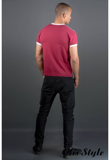 Мужская футболка Рональдо (бордовый) оптовая цена