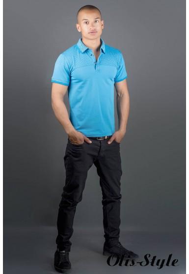 Мужская футболка Жорж (голубой) оптовая цена
