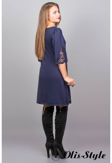 Платье Валенсия (синий) Оптовая Цена