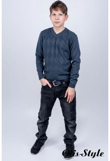 Детский свитер Архимед (серый)