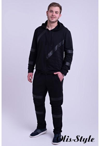 Мужской спортивный костюм Конти (черный) Оптовая Цена