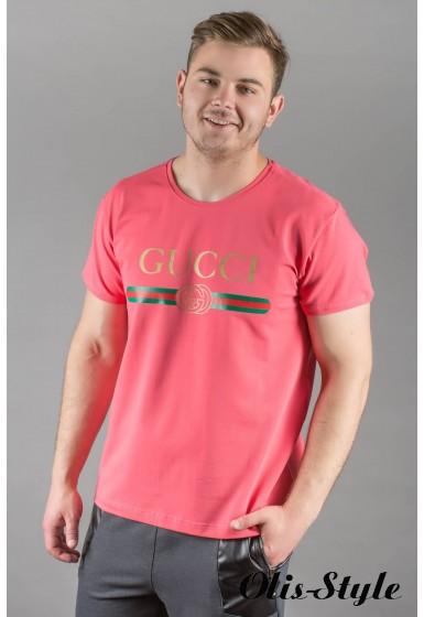 Мужская футболка Гуччи (коралл) оптовая цена