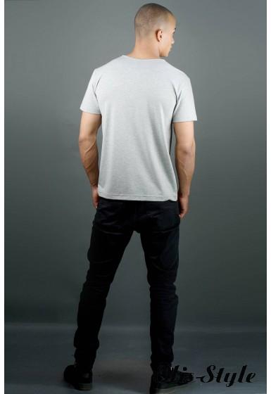 Мужская футболка Жерар (серый) оптовая цена