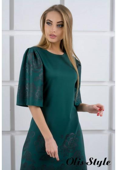 Платье Марлет (зеленый) Оптовая цена
