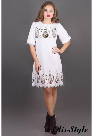 Платье Айсель (белый) Оптовая цена