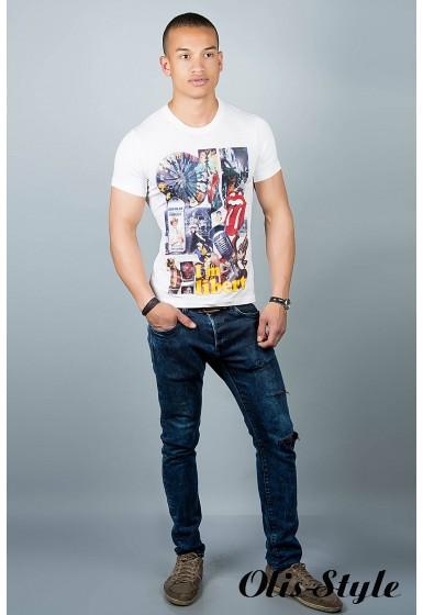 Мужская футболка (белая №30)   оптовая цена