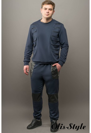 Мужские спортивные штаны Алекс (синий) Оптовая Цена