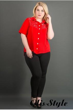 Рубашка Ника (красный ) оптовая цена