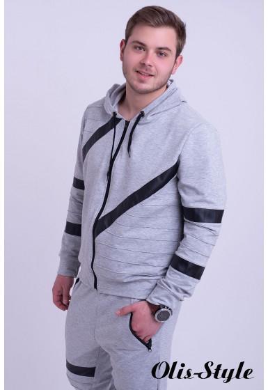 Мужской спортивный костюм Конти (серый) Оптовая Цена