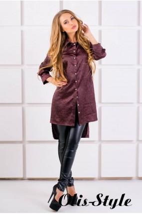 Рубашка Авива (коричневый) оптовая цена