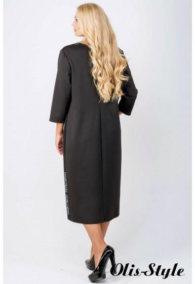 Платье Бейла (черный) Оптовая цена