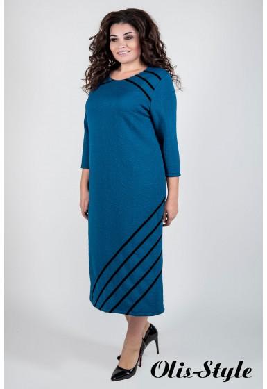 Платье Камелия (морская волна) Оптовая цена