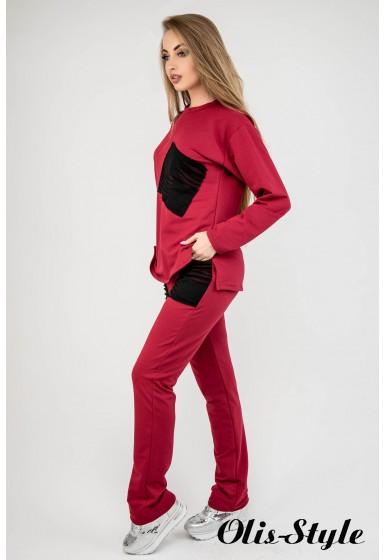 Спортивный костюм Синди (бордовый) Оптовая цена
