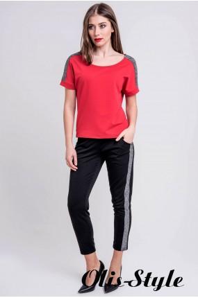 Спортивный костюм Мия (красный) Оптовая цена