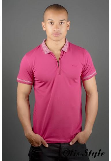 Мужская футболка Тимур (бордовый) оптовая цена