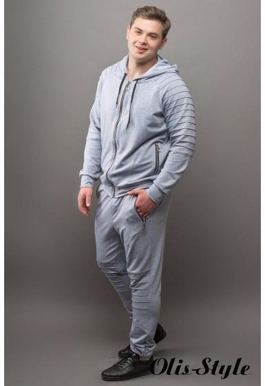 Мужской спортивный костюм Тимм (серый) Оптовая Цена