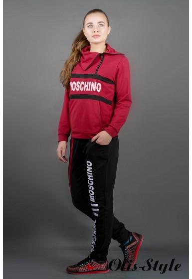 Спортивный костюм Перфект (бордовый) Оптовая цена