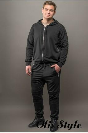 Мужской спортивный костюм Тимм (черный) Оптовая Цена