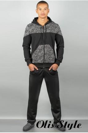 Мужской спортивный костюм Тодори (черный) Оптовая Цена