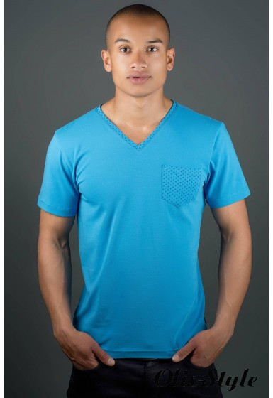 Мужская футболка Жерар (морская волна) оптовая цена