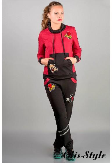 спортивный костюм Драйв (бордовый)   Оптовая Цена
