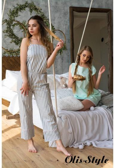 Пижама Кейт (серый) оптовая цена