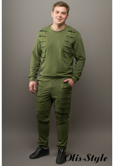 Мужской спортивный костюм Эполь (хаки) Оптовая Цена