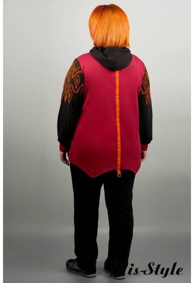 Спортивный костюм Эрика (бордовый) оптовая цена