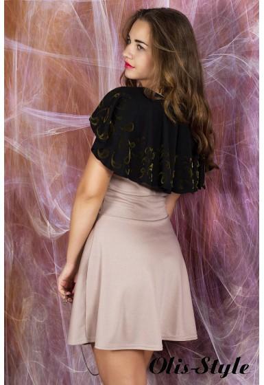 Платье Мадонна (бежевый) оптовая цена