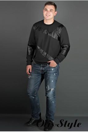 Мужская толстовка Эйстин (черный) оптовая цена