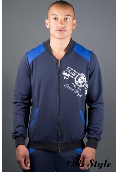 Мужской спортивный костюм Митчел (синий) Оптовая Цена
