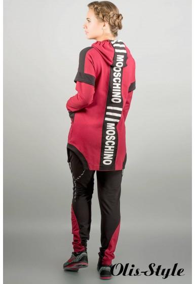 Спортивный костюм Бриз (бордовый) Оптовая Цена