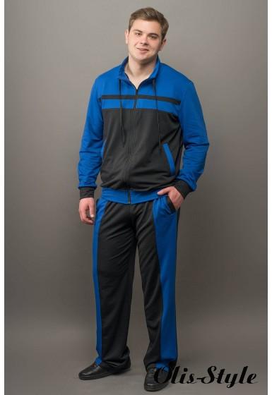 Мужской спортивный костюм Стивен (электрик) Оптовая Цена