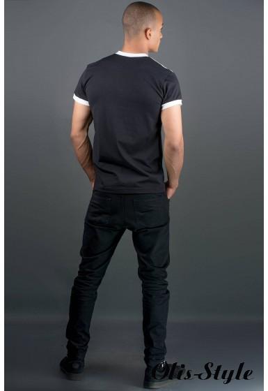 Мужская футболка Рональдо (черный) оптовая цена