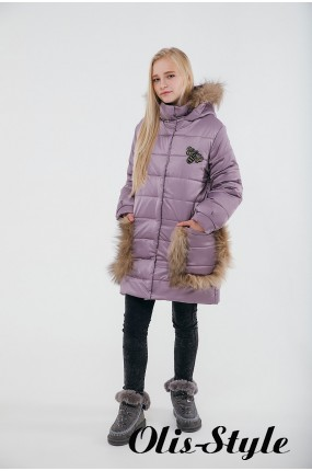 Зимняя детская куртка Ангелия (розовый) Оптовая цена