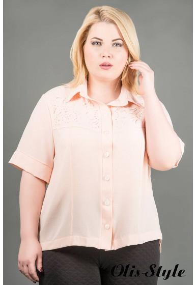 Рубашка Ника (персик ) оптовая цена