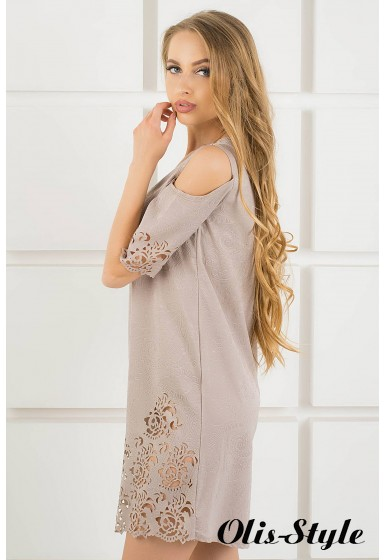 Платье Марлен (бежевый) Оптовая цена