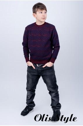 Детский свитер Джокер (бордовый)