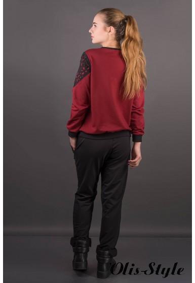 Спортивный костюм Аракси (бордовый) Оптовая цена