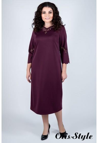Платье Молли (бордовый)