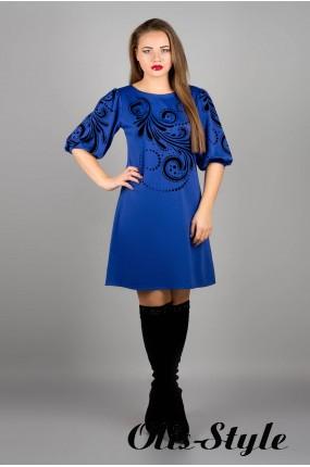 Платье Каролина (электрик) оптовая цена