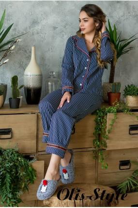 Пижама Лэрри (синий) оптовая цена