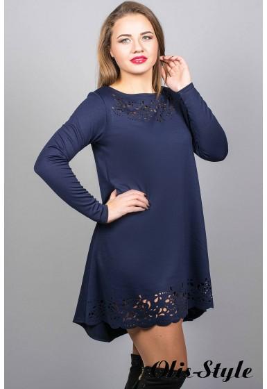 Платье Лучия (синий) Оптовая Цена