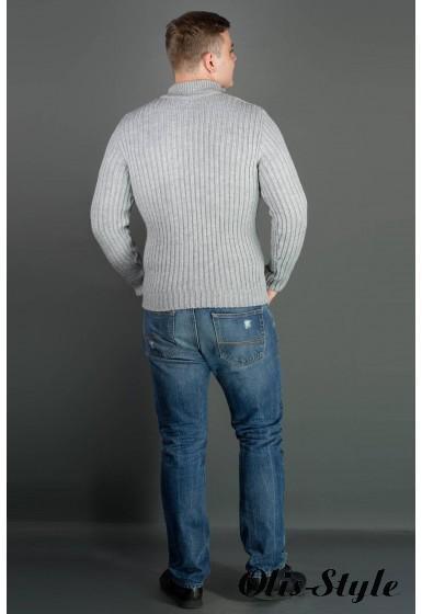 Мужской свитер Равиль (серый) оптовая цена