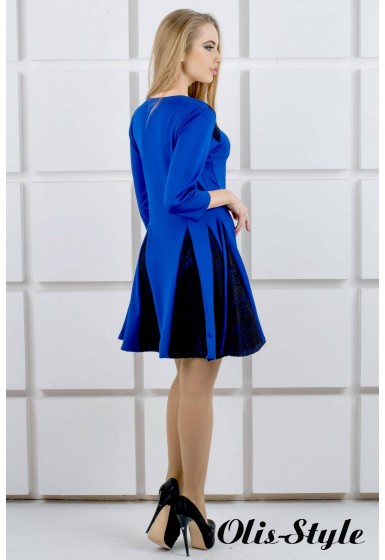 Платье Хэлли (электрик) Оптовая цена