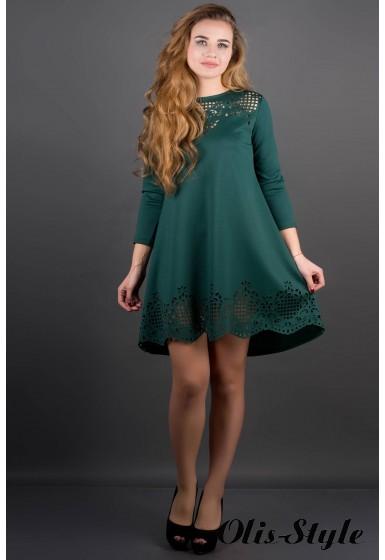 Платье Летисия (зеленый) Оптовая Цена