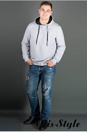 Мужская толстовка Рунэ (серый) оптовая цена